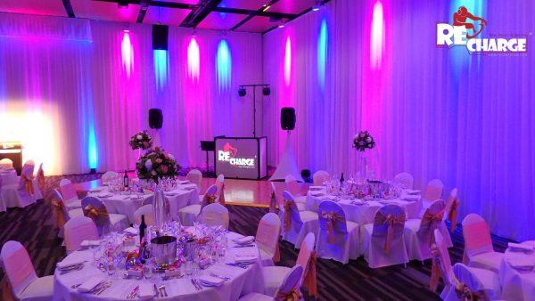 Wedding setup at BCEC