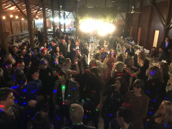 Full Dancefloor at a wedding