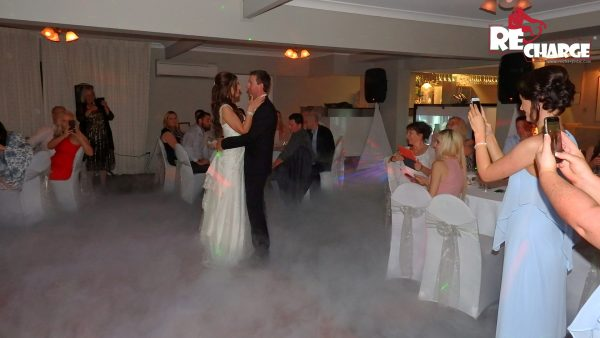 Wedding photo with Dancing on Clouds